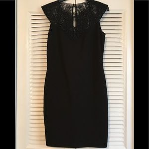 Ted Baker, You Look Fabulous Black Dress with Lace